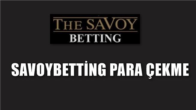 savoybetting-para-cekme